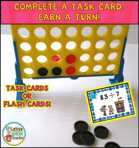 Task Cards turn ordinary games into learning opportunities!