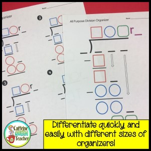 long-division-graphic-organizer for students