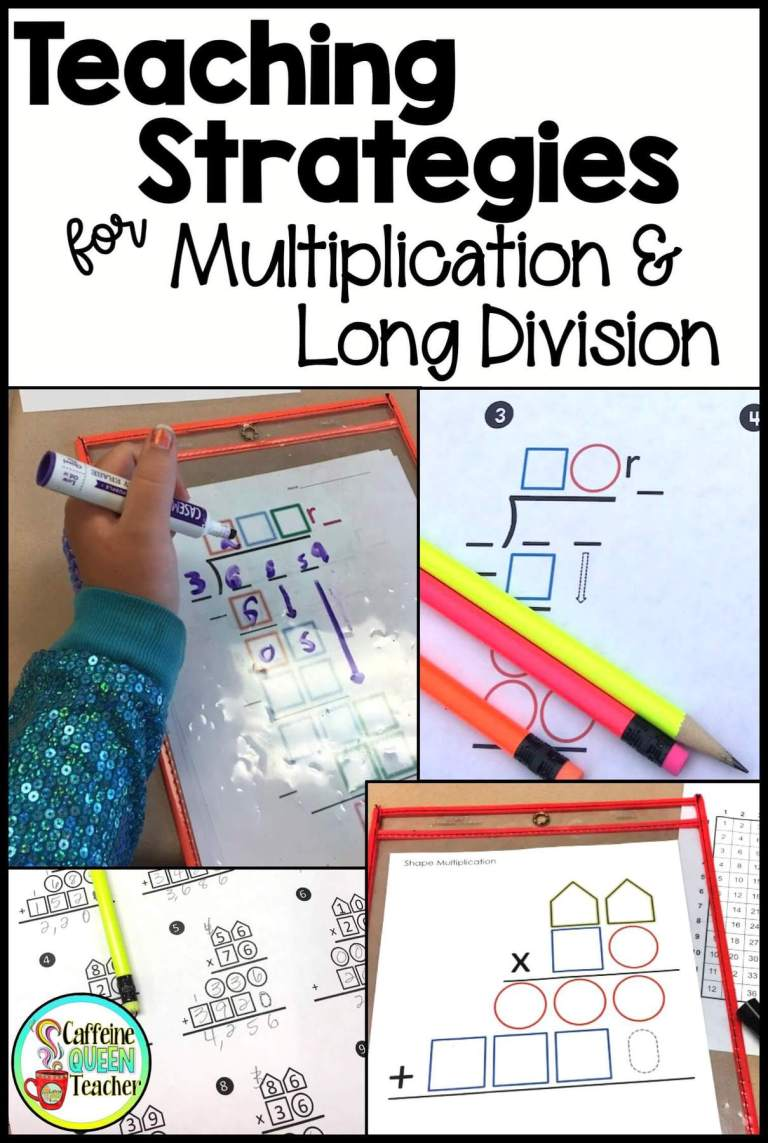 How to teach multi-digit multiplication and long division title image
