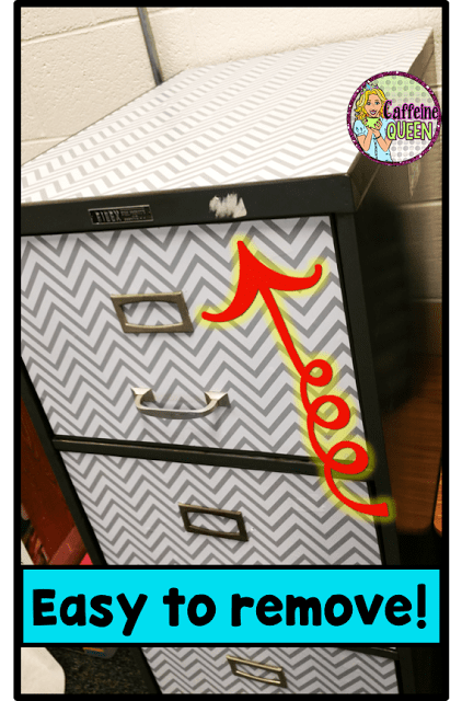 Old filing cabinet looks so much better!