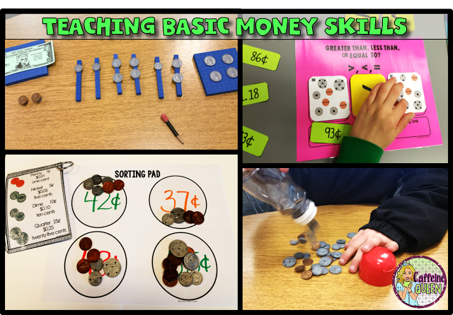 resources for teaching money skills