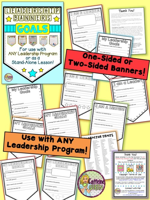 Display student goals in a Quick, Easy Format!
