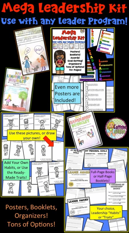 Student Leader Kit provides resources to promote leadership and responsibility