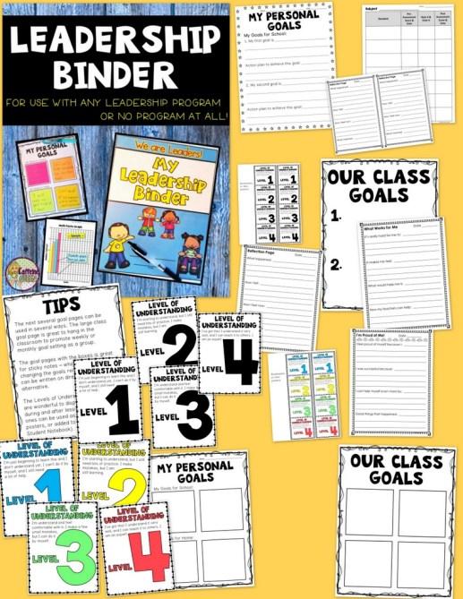 Data Binder for Student Leaders