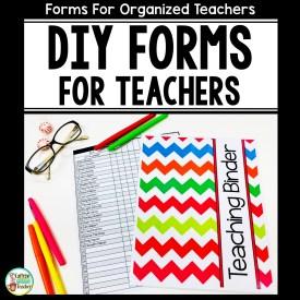 teaching-forms-for-teacher-binders