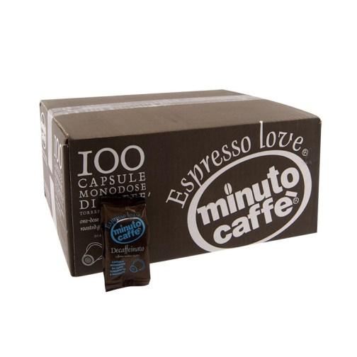 Minuto nespresso dek 100cps