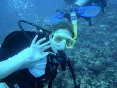 Coral surveys in Grand Cayman