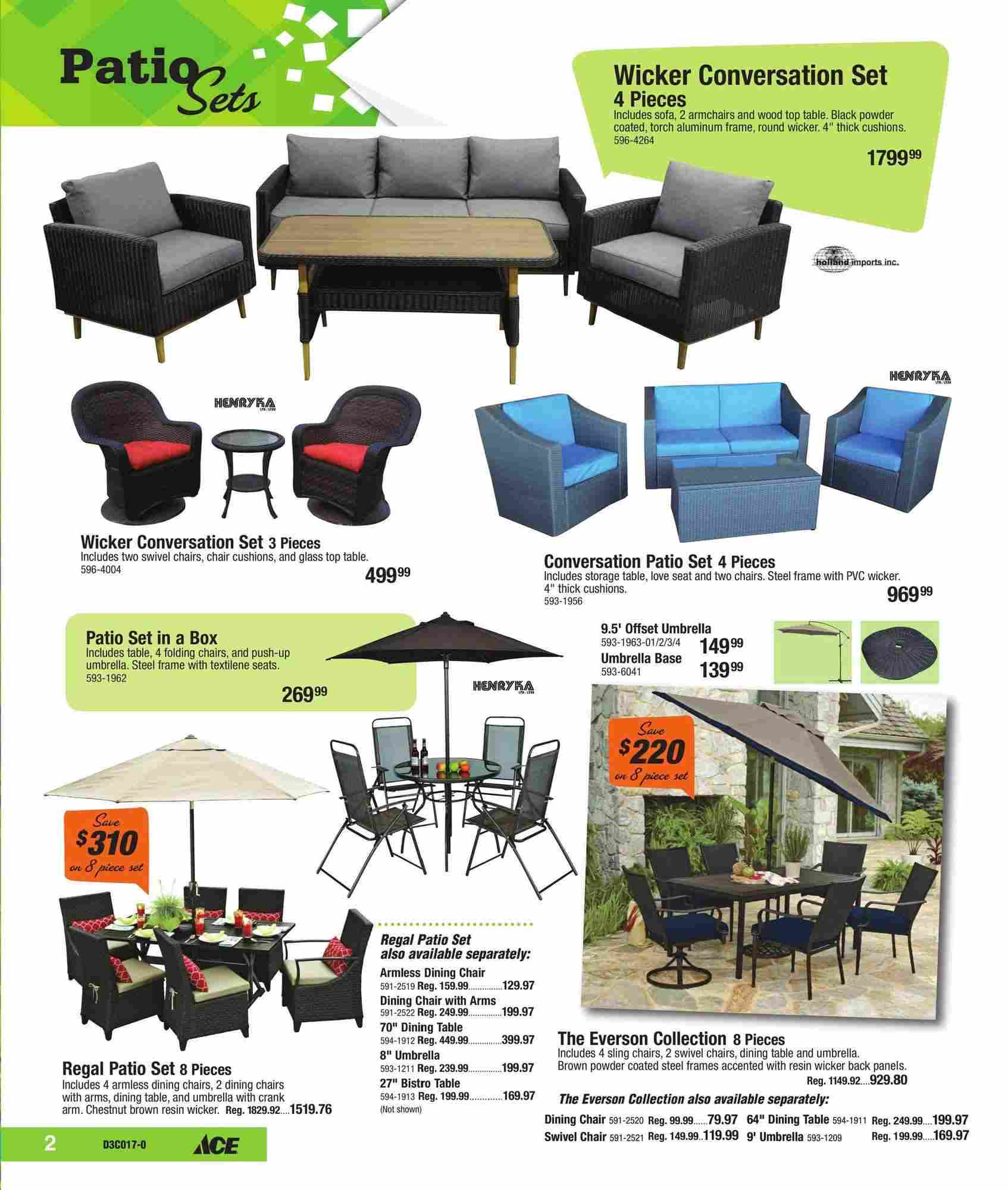 Ace Hardware Canada Outdoor Living Flyer (ON) May 1 - 27 2017 on Ace Outdoor Living id=81585