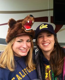 Lauren Goschke and Christina Restaino - Go Bears!
