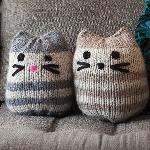 free cat knitting patterns # 24