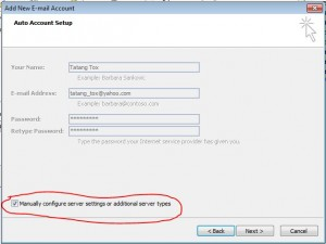 Cara Setting Mail Yahoo! di Outlook (5/6)