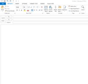 Setting Signature di Outlook 2