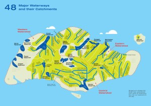 Water Catchment Map
