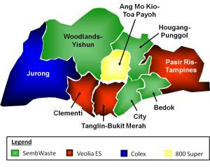 sector map waste management