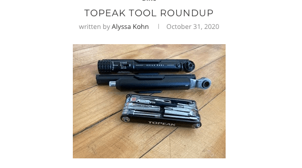 Topeak Tools Review