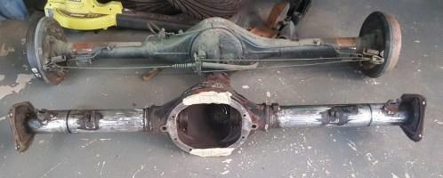 R31 diff into Datsun 1200 ute