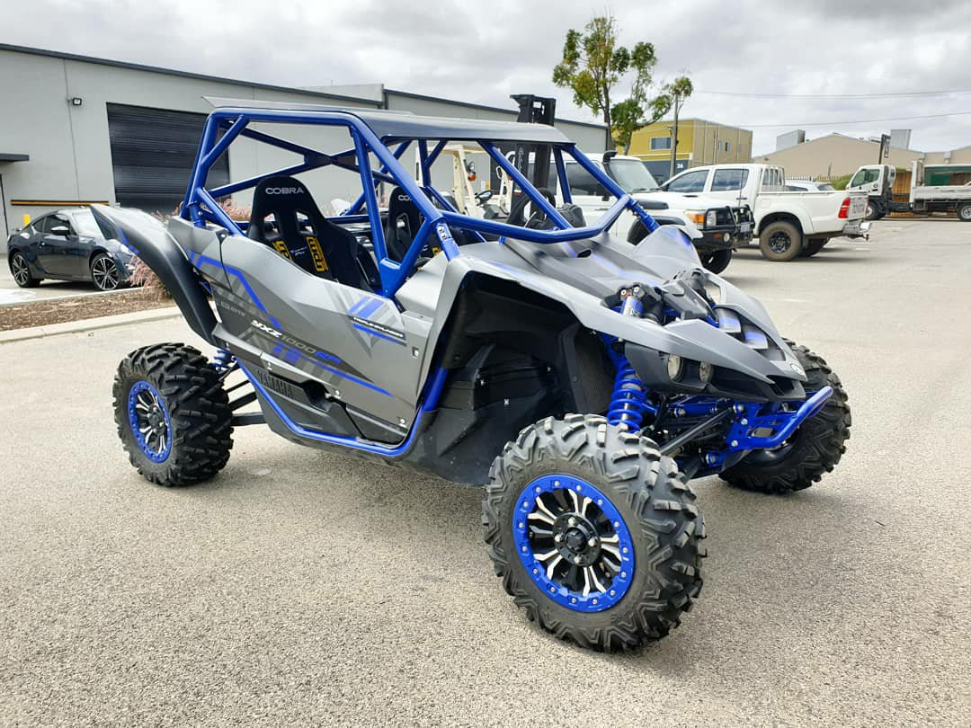 Pair of YXZ cages complete