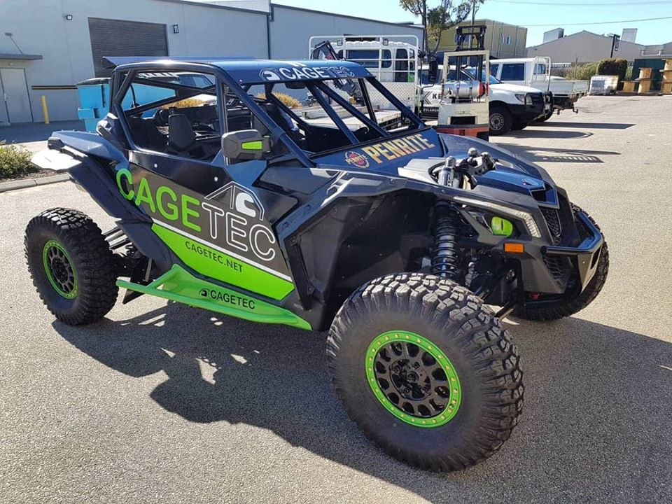 Cagetec X3 – Nearly Ready to race