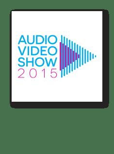 Logo Audio Video Show 2015