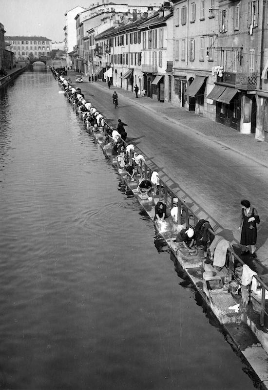 Naviglio Pavese, Milano, 1938