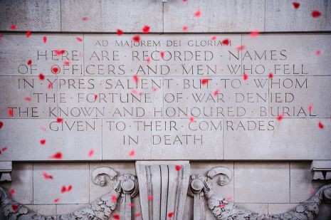 British author and poet Rudyard Kipling contributed these words above the staircase arches.