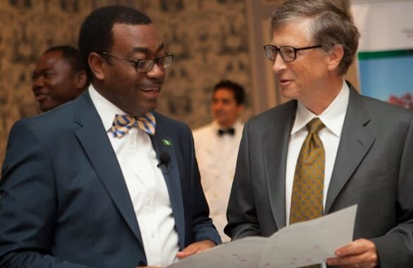 World Food Prize Winner Dr. Adesina with Bill Gates