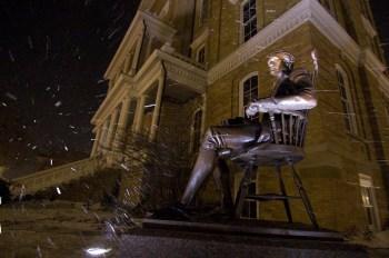 Jefferson - Braving the Winter Storm