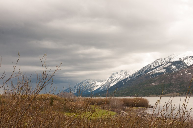 Storm in the Tetons