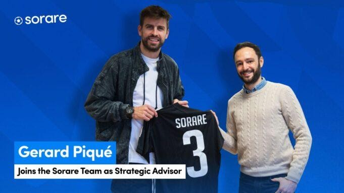 Gerard Pique takes key role in fantasy football token Sorare after $4.3M investment - CAGRValue