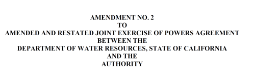 Amendment No 2 to JEPA