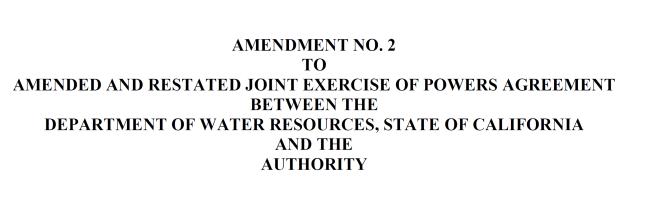 Amendment No 2 to JEPA