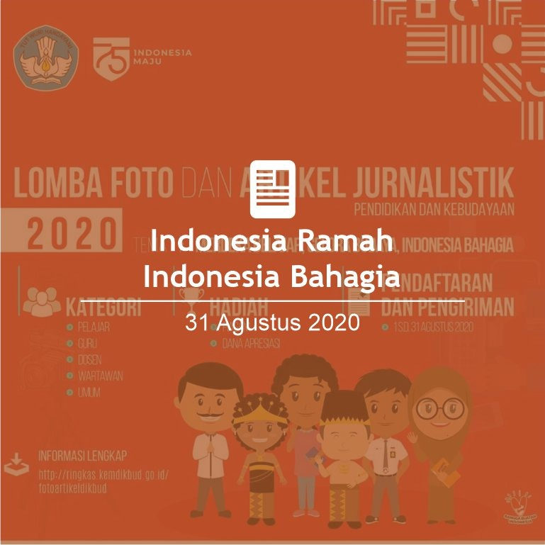 Indonesia Ramah Indonesia Bahagia