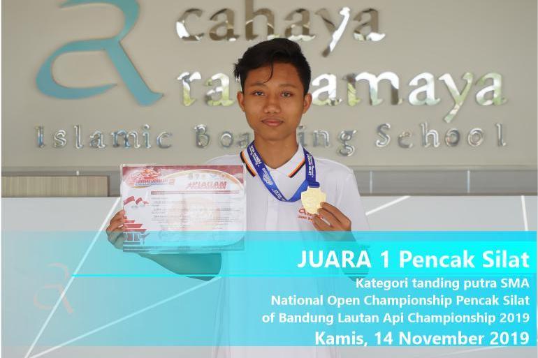 Juara 1 – Kategori Tanding Putra SMA