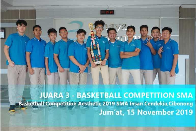 JUARA 3 – Basketball Competition SMA
