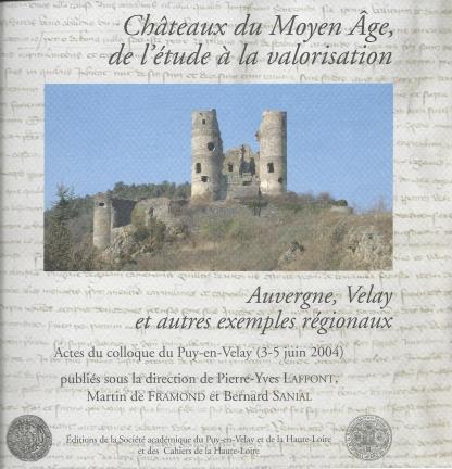 Cahiers de la Haute-Loire. Année 2009. Couverture de Chateaux