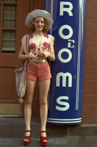 """Jodie Foster portrays a 12-year-old prostitute in the 1976 movie """"Taxi Driver,"""" which was directed by Martin Scorsese. (AP Photo/ho)"""