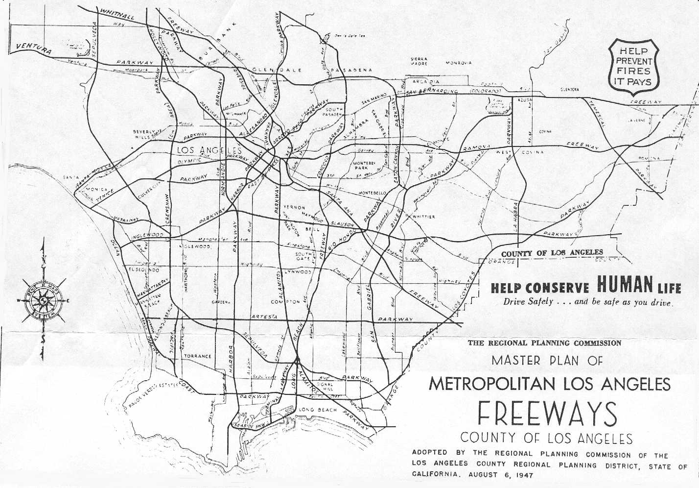 Unknown Proposed Freeways In So Cal