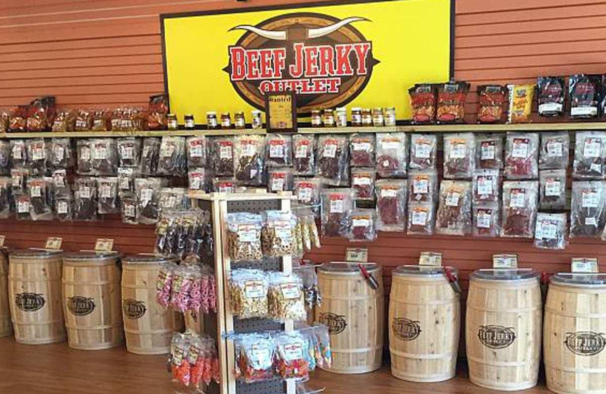Beef Jerky Outlet, Carolina Jerky