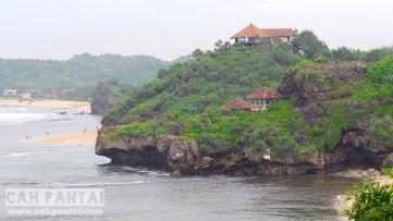 Pantai Sundak view dari Bukit Somandeng