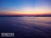 Sunset dari Dermaga Ferry
