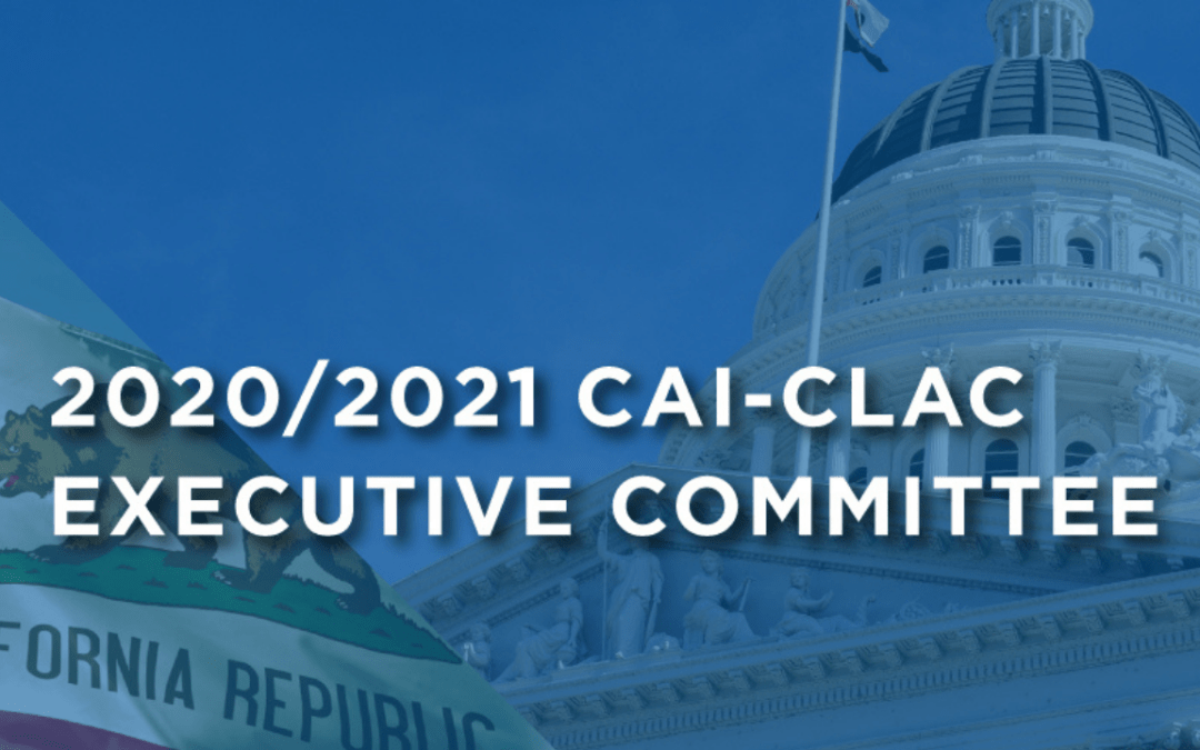 2020-2021 CAI-CLAC Executive Committee Term Announcement