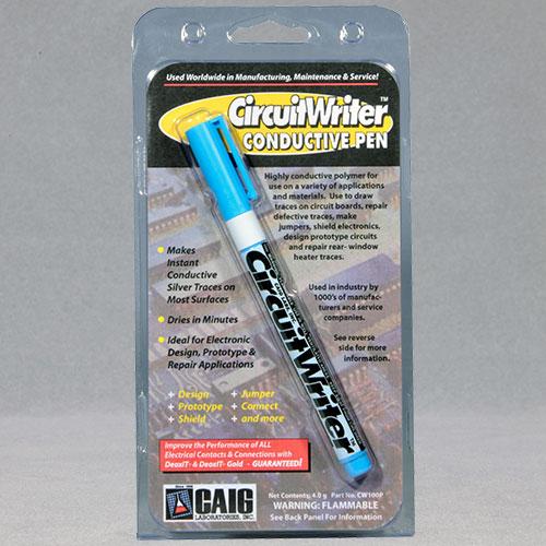 Caig Cw100p Circuit Writer Conductive Ink Pen