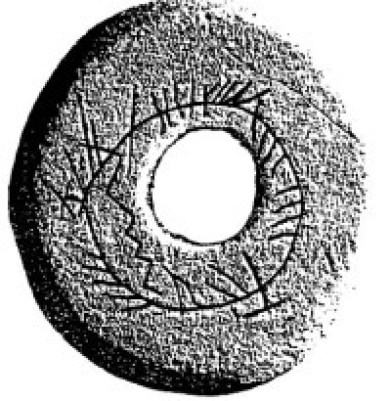 buckquoy Spindle whorl 8th Century