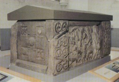 St Andrews sarcophagus - supposedly made for Nechtan