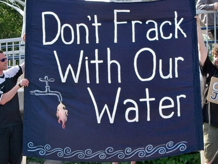 Dont frack our water