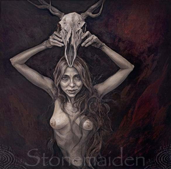 Isobel Gowdie Album Cover Art by Stonemaiden Art ( used with permission)