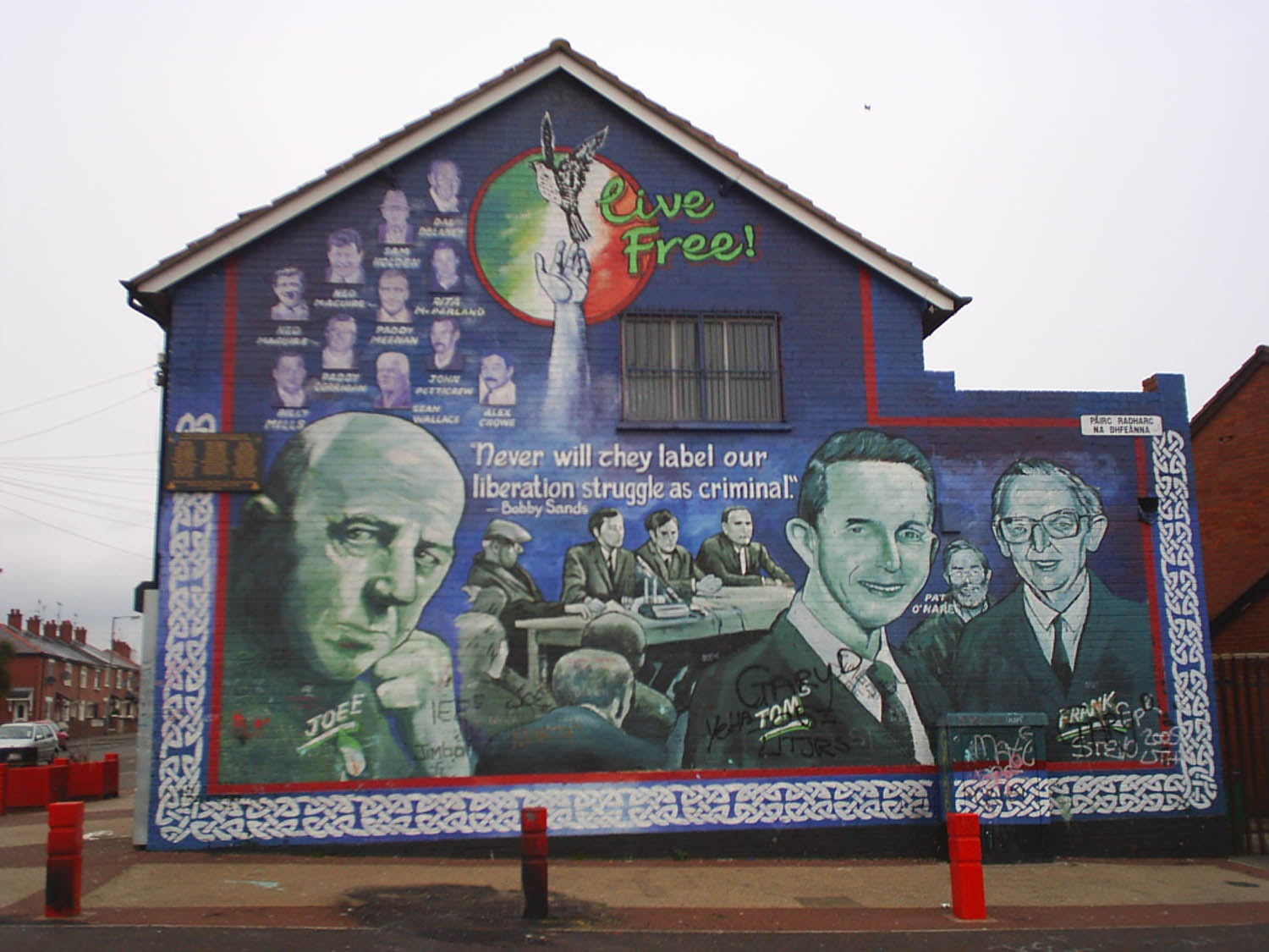Image result for Irish murals