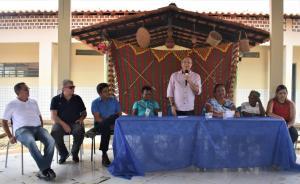 FOTO 5 2 - Hildo Rocha inaugura moderno sistema de abastecimento de água na Aldeia Três Irmãos, em Barra do Corda - minuto barra