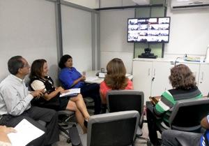 Foto 2 SES - videoconferência da CIB
