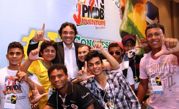 Lobão Filho participa do Congresso Estadual da Juventude do PMDB foto GILSON TEIXEIRA 6